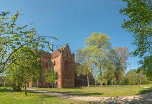 Kloster Chorin Ansicht von außen